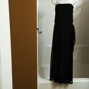 Connected Apparel Dressy Black Jumpsuit